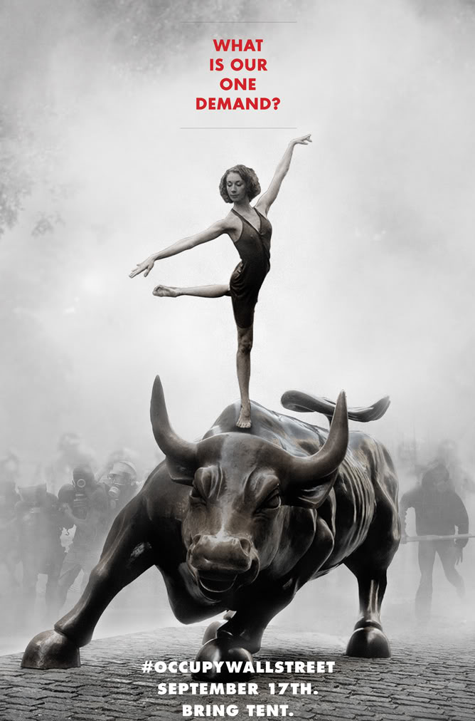 Adbusters' Occupy Wall Street Poster