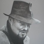 T.C. Lethbridge portrait by Black Sheep artist Hebbs