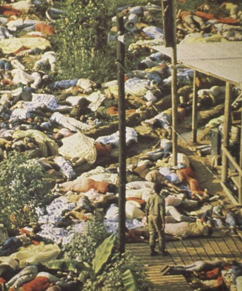 """sociology jonestown The jonestown incident was shocking not only because so many people died, but also because jim jones claimed that it was a """"revolutionary suicide,"""" protesting an """"inhumane world."""