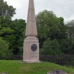 Monument at the execution site of the five leaders of the Decembrist Revolt
