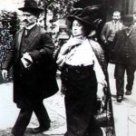 Revolutionary leaders Karl Liebknecht and Rosa Luxemburg