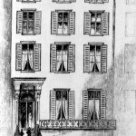 The first Woman&#039;s Hospital, Madison Avenue and 29th Street, NYC: residence of female butcher J. Marion Sims