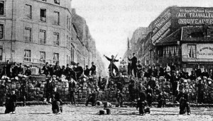 Paris Commune Barricade 1871