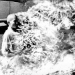 The self-immolation of Buddhist monk Thch Qung c