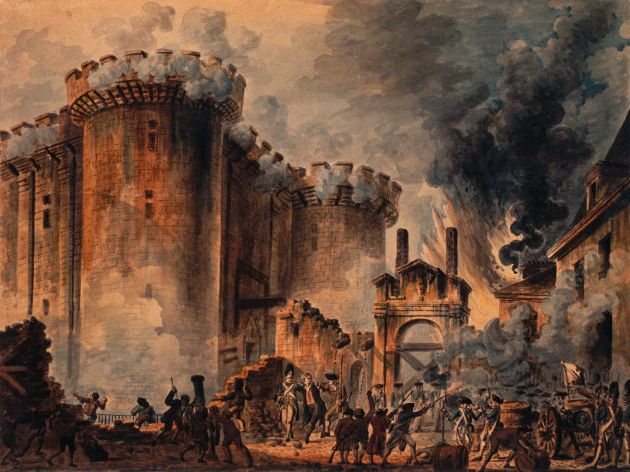 14th July 1789 – the Storming of the Bastille | Dorian ...