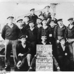 Mutinous German sailors of SMS  Prinzregent Luitpold