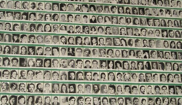"VIctims of the Dirty War – ""Los desaparecidos"" or ""the disappeared."
